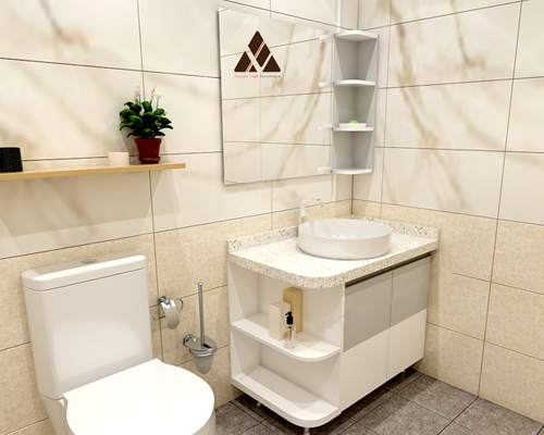 Tủ lavabo nhựa XVL592